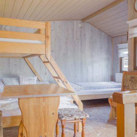 samostatná chata, ubytování v chatě,